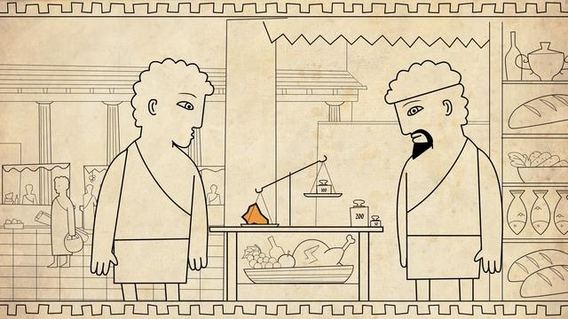 White Gold by Hyuli. Short animation film we did for the Israeli Museum Exhibition - White Gold. The animation tells the story of the invention of the gold coin in ancient times. The short film uses no language, and it's design takes inspiration from old greek art. Credits to Roy Manor for the animation and Shai Zingerman for the sound design. Thanks Guys!