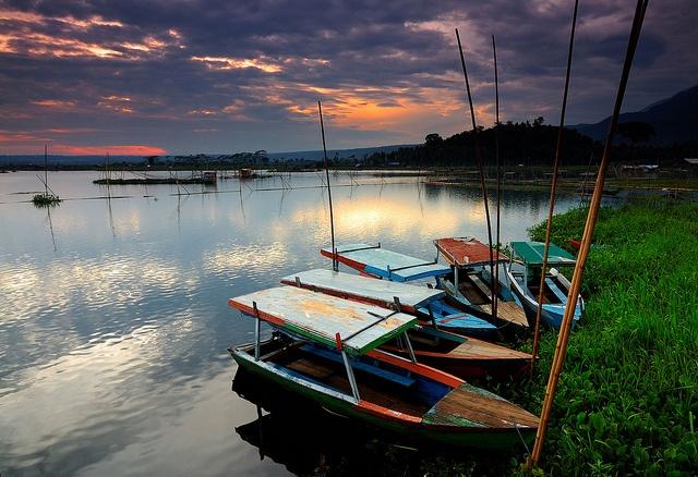 Rawa Pening, Ambarawa, Indonesia.