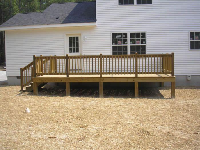 Diy decks and porch for mobile homes porches and decks for Diy decks for mobile homes