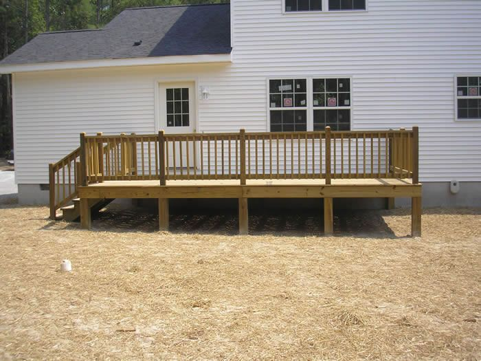 Diy Decks And Porch For Mobile Homes Porches And Decks
