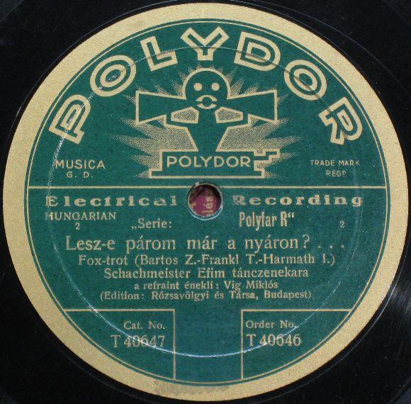 Vintage Polydor Record Label Record Labels 78 S