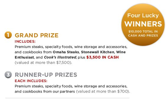 Enter the Cook's Illustrated 2013 Holiday Entertaining Sweepstakes