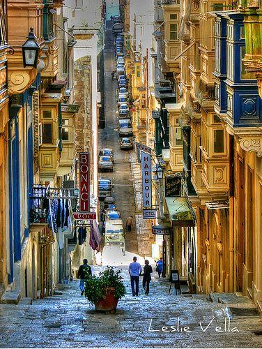 St. Ursula Street, Valletta, Malta | Flickr - Photo Sharing!