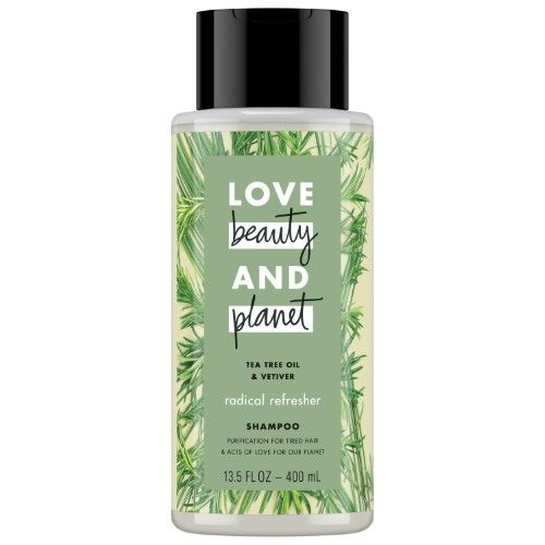 Love Beauty and Planet Tea Tree Oil and Vetiver Radical Refresher Shampoo 13.5 oz | Jet.com