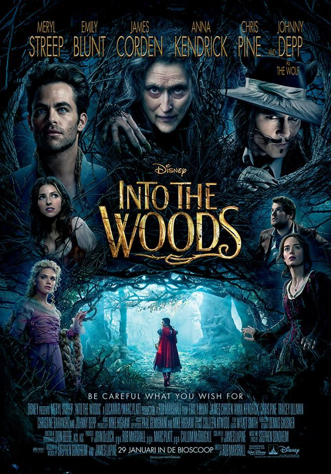 Into the Woods & Over the top  (in a good way :-))