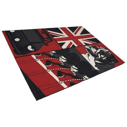 Designerski dywan do salonu. Designerskie dekoracje i wyposażenie wnętrz