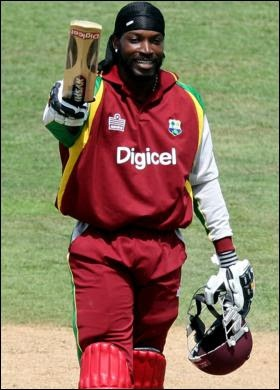The best T20 cricketer... Gayle