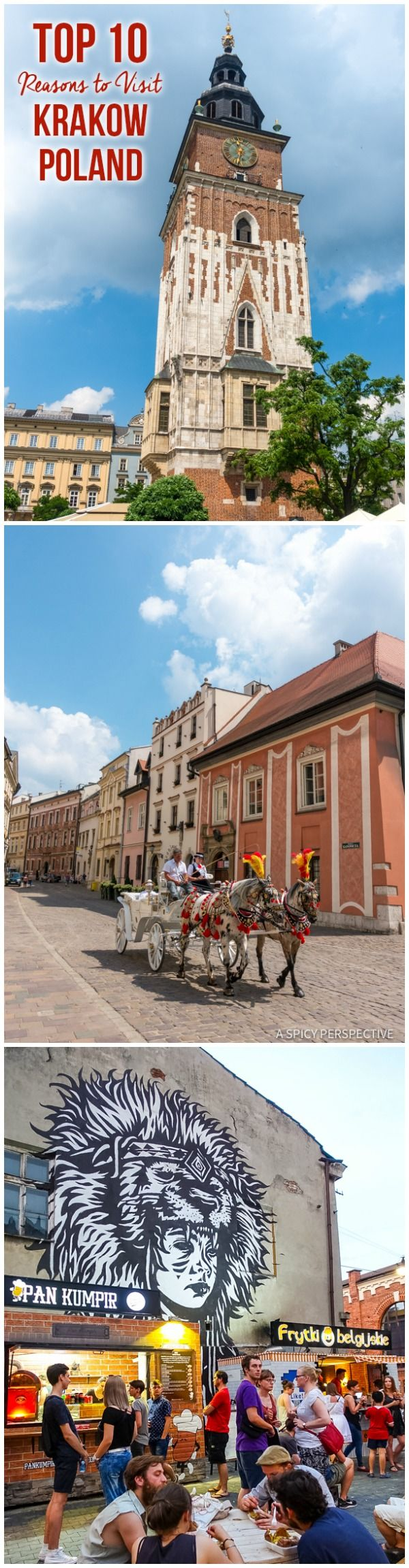 Best 10 Reasons to Visit Krakow, Poland   ASpicyPerspective.com #travel
