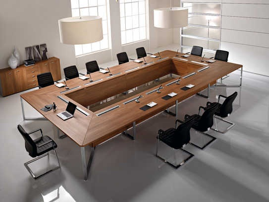 Imeet meeting table: modular boardroom where you can meet your team, customers or just visitors