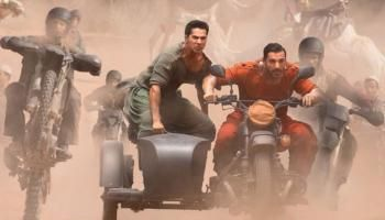 """CRB Tech Reviews, this time comes up with the latest movie review:Dishoom Dishoom organize the buddy cop film, with John Abraham and Varun Dhawan being assigned to the """"Case Of A Kidnapped Indian Cricketer"""". Dishoom is a fast paced fashionable movie. It's got flash but the plot keeps stumbling and stops the movie from really zooming. And after the interval, it nose dives, meandering off in some Fairy Tale style fantasy space."""