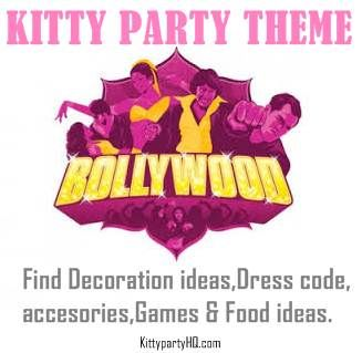 bollywood theme kitty party ideas