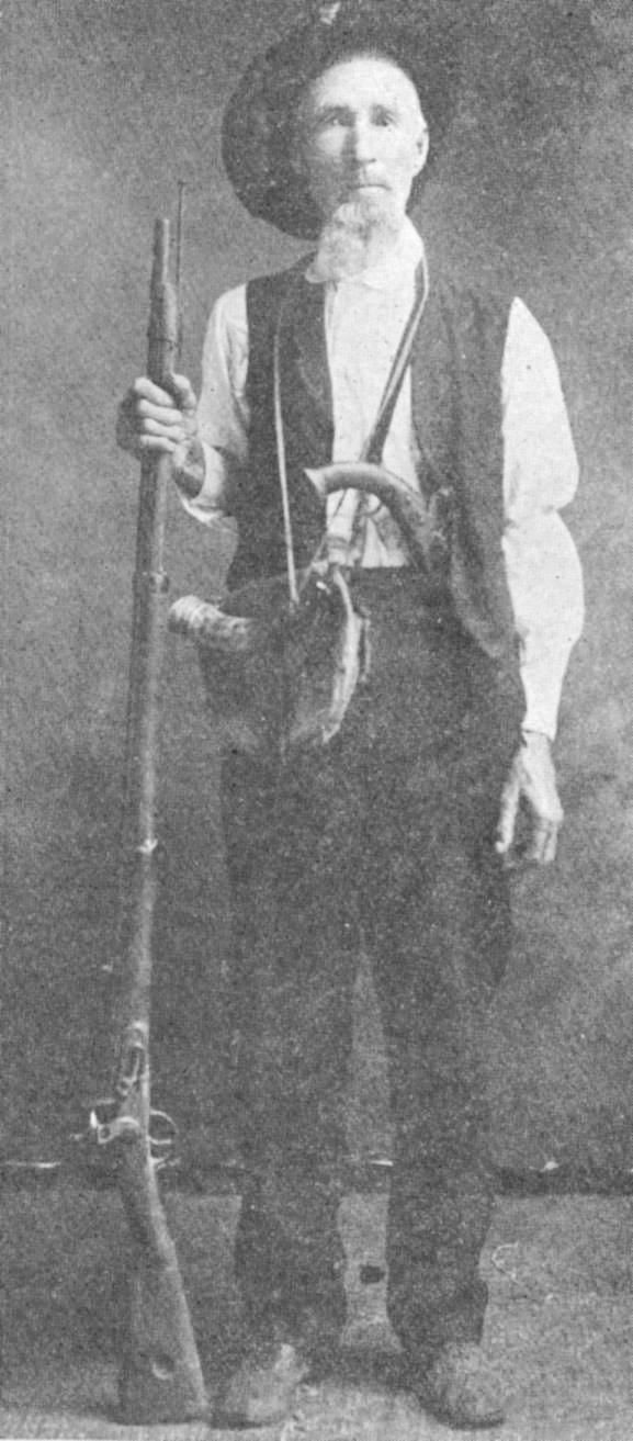 Alphonso Steele ... the last surviving active combatant on the San Jacinto Battlefield.  He received a head wound that caused bouts of temporary blindness.  He died in Mexia in1911.