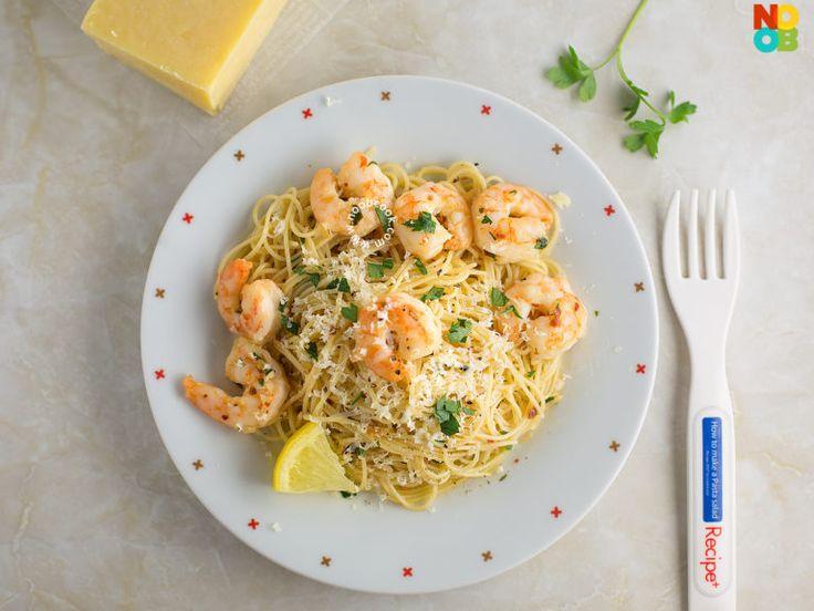 Shrimp Scampi Pasta Recipe | Page 2 of 2 | NoobCook.com