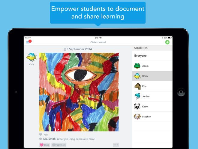 Capture Student Work with Seesaw App The Learning