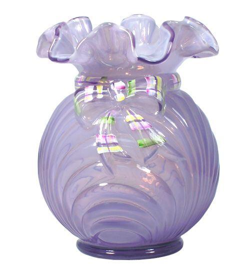 Love the color of this Fenton vaseFenton Glasses, Glasses Depression, Fenton Vases, Fenton Art, Beautiful Glasses, Glasses Art, Depression Glasses, Fenton Glassware, Art Glasses