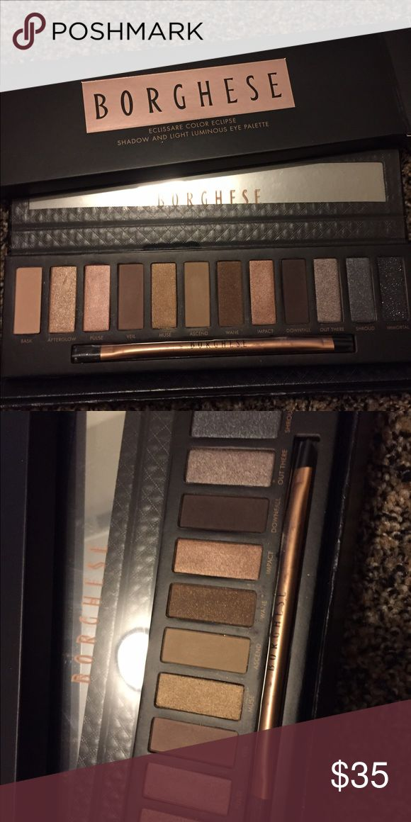Borghese Makeup pallet Brand new, fresh and sealed. I have a 30% bundle discount so my prices are pretty firm. I love to bundle and give gifts to bundles of 4 or more. Borghese Makeup Eyeshadow