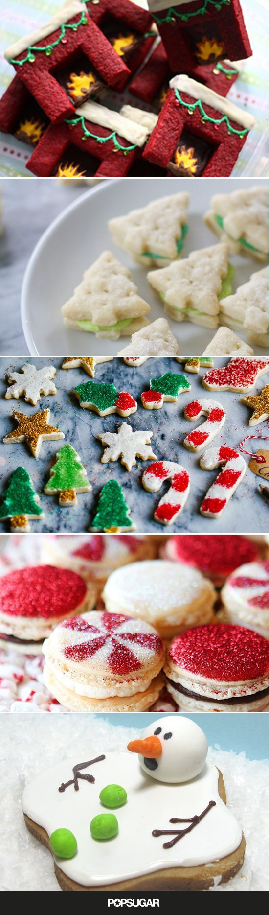 Whether you're totally at ease in an apron or prefer to let the experts at your local bakery do the leg work for you, these 26 Christmas cookie ideas are sure to inspire.