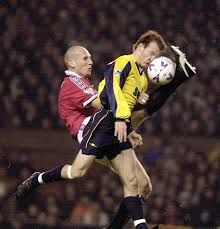Jaap Stam vs Arsenal
