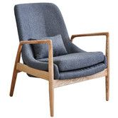 Found it at Temple & Webster - Modern Lucas Armchair