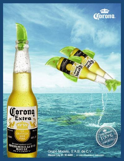 Corona - perfect for an Aussie new years eve party - must add lime or lemon!! Just makes it!