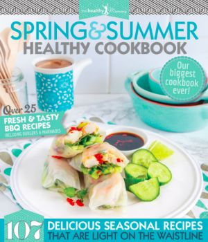SPRING AND SUMMER HARD COVER RECIPE BOOK