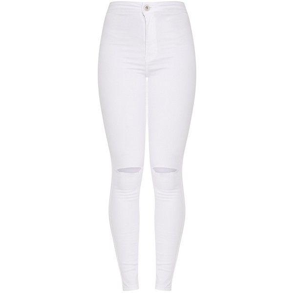 Best 25  White ripped skinny jeans ideas on Pinterest