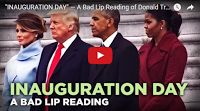 """MFS VIRAL VIDS-2: """"INAUGURATION DAY"""" — A Bad Lip Reading of Donald Trump's Inauguration Tee hee... It was only a matter of time before BLR came out with this one...  Politicians CAN say what they're actually thinking..."""