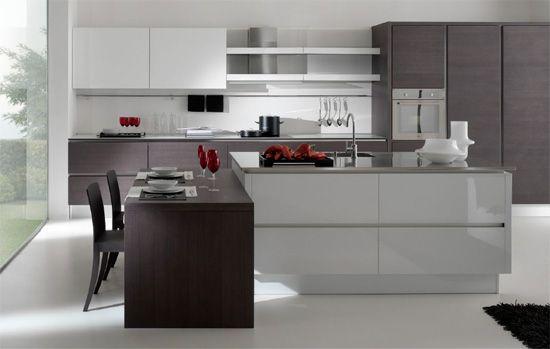 cuisine moderne design italienne recherche google loft d pinterest design italien. Black Bedroom Furniture Sets. Home Design Ideas