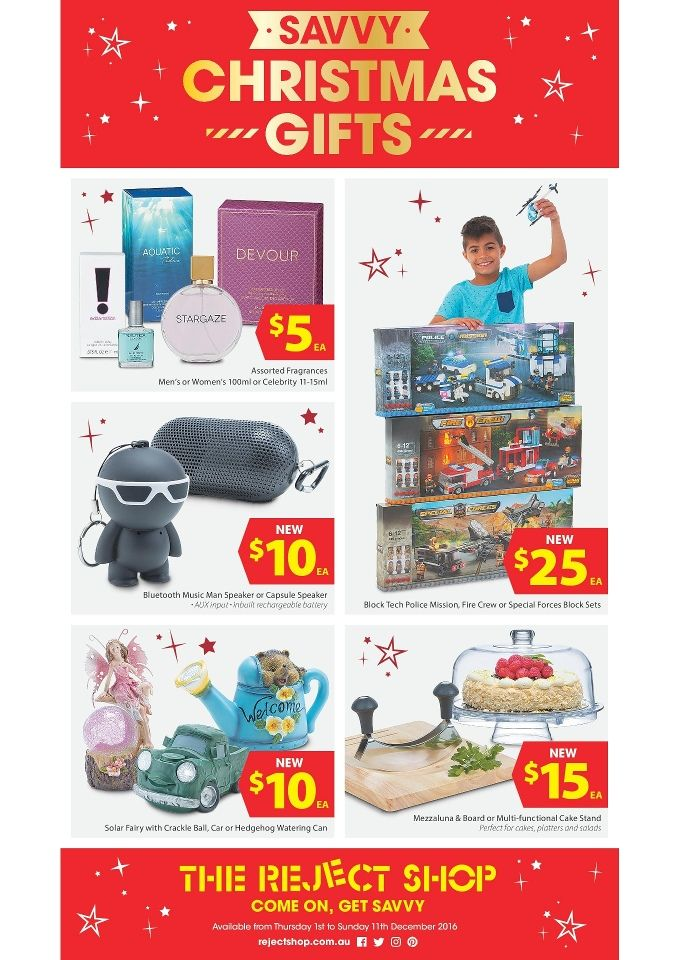 The Reject Shop Catalogue 1 - 11 December 2016 - http://olcatalogue.com/reject-shop/reject-shop-catalogue.html