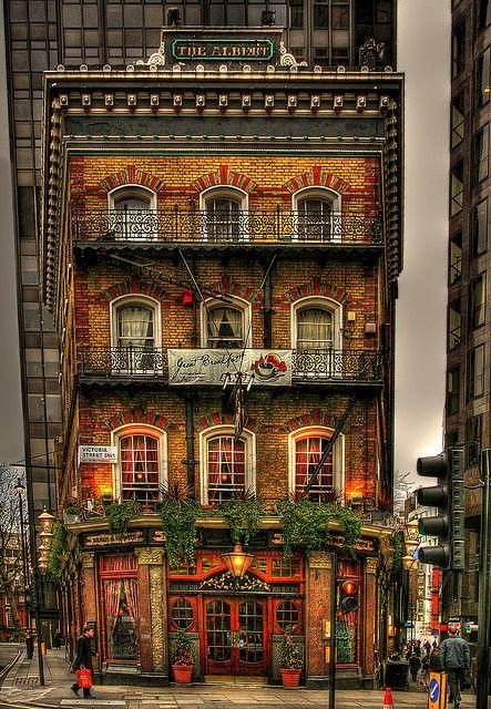 The Albert pub in London. Looks charming! ASPEN CREEK TRAVEL - karen@aspencreektravel.com