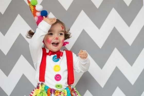 C mo hacer un disfraz de payaso sin coser disfraz - Como hacer un disfraz de bebe ...