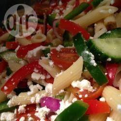 Recipe photo: Greek Penne Pasta Salad