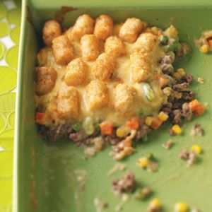 Makeover Tater-Topped Casserole Recipe from Scott Woodward, Elkhorn, WI - Taste of Home