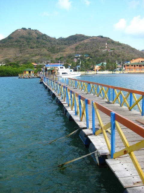 Lovers Bridge, between Providencia and Santa Catalina, Colombia