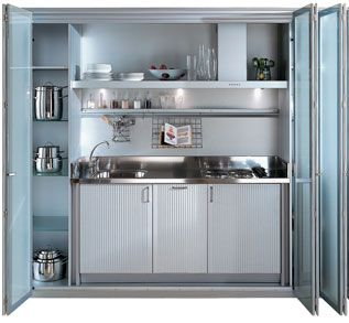 Best Small Kitchen Ideas For A Studio Apartment Interior 400 x 300