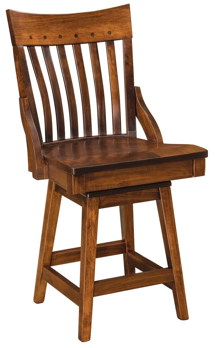 399 best bar stools and counter stools images on pinterest amish fontana swivel bar stool