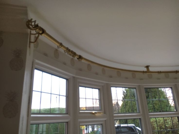 17 Best Images About Hallwright Bay Window Curtain Poles