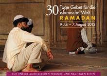 Liebe Freunde und Beter! - Deutsche Evangelische Allianz: 30 Tage Gebet für die islamische Welt