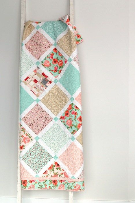 Rustic Elegance Lattice Quilt