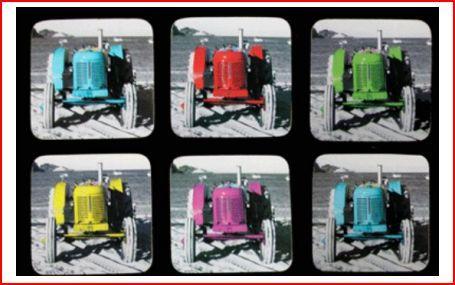 Moana RD - coasters tractor