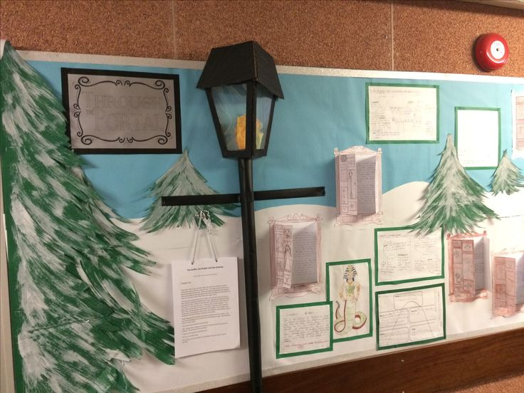 Year 5 work based on The Lion the Witch and the Wardrobe.