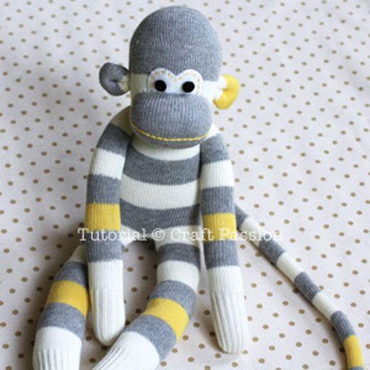 How to Make Cute Sock Monkey | Neatologie