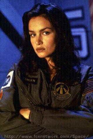 "Kristen Cloke as Shane Vansen on ""Space: Above and Beyond"" (1995-96)"
