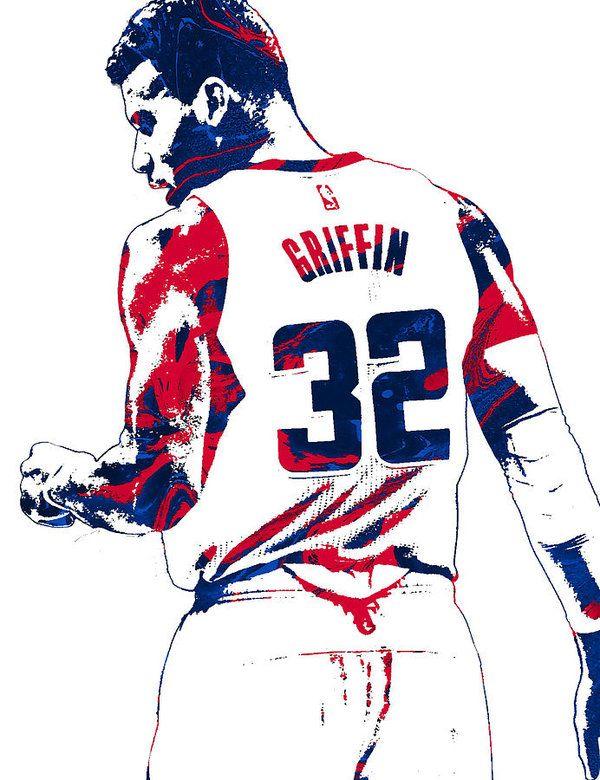 d84628bb0 Blake Griffin Los Angeles Clippers Pixel Art 4 Art Print by Joe Hamilton.  All prints