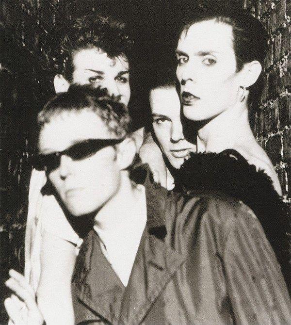 4-8 Punk Goth Bowie Bauhaus Nina Hagen musique 1980 S Chaussettes UK Taille Unique