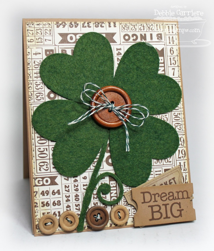 Great 'Luck o' the Irish' card...