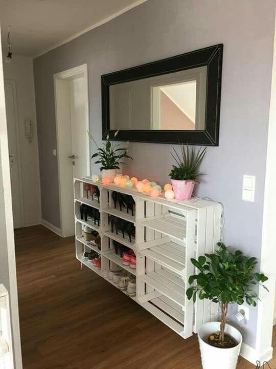 die besten 25 schuhregal ideen auf pinterest schuhwand schuhregal und schuh organizer. Black Bedroom Furniture Sets. Home Design Ideas