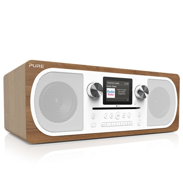 Pure EVOKECF6 Stereo DAB/DAB  Internet Radio and CD Player Bluetooth http://www.MightGet.com/january-2017-13/pure-evokecf6.asp