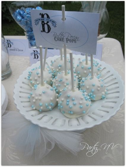 B is For Boy baby shower idea