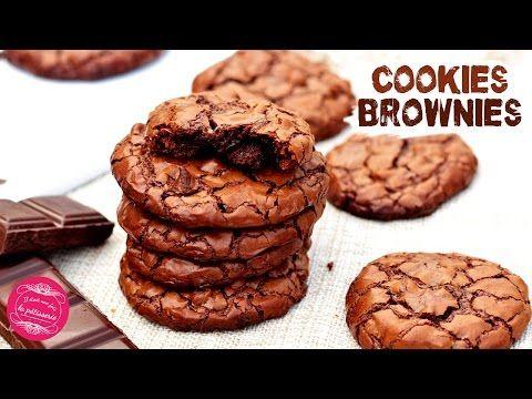 Recette des cookies brownies : Il était une fois la pâtisserie